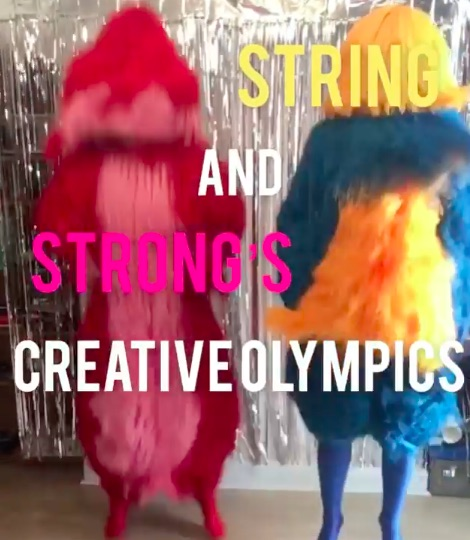 String and Strong's Creative Olympics for Festival Stoke